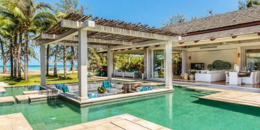 Villa plage Chaweng Koh Samui 5 chambres piscine vue mer