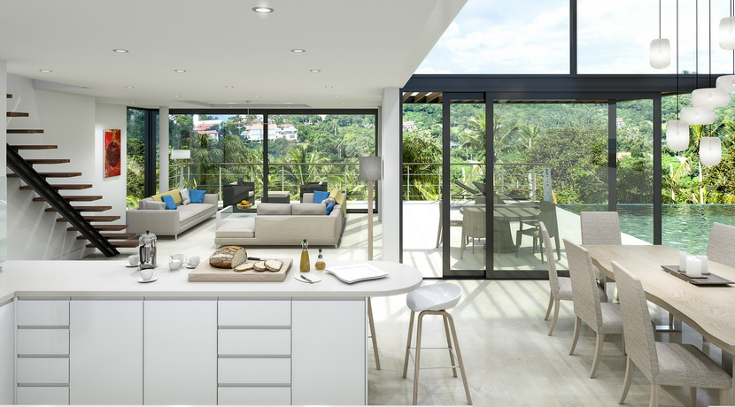 Villas Bophut Koh Samui sur mesure en vente Living Area 3-Furniture_resize