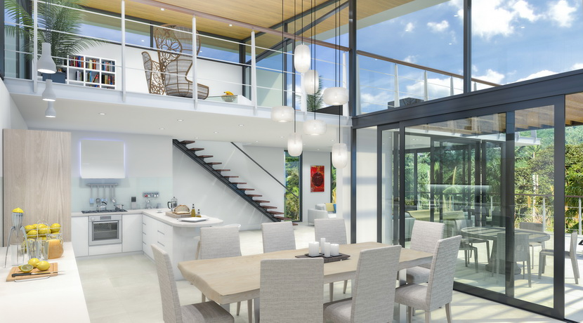 Villas Bophut Koh Samui sur mesure en vente Living Area Furniture_resize