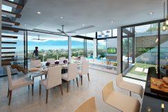 Villas Bophut Koh Samui sur mesure en vente Living_ Internal 4 Bed_resize