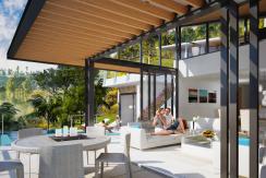 Villas Bophut Koh Samui sur mesure en vente Living_Internal 3 Bed_resize