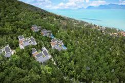 Villas Bophut Koh Samui sur mesure en vente Plot C Birdseye_resize