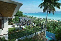 Villas Bophut Koh Samui sur mesure en vente View Balcony_resize