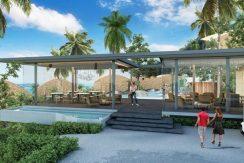 A vendre sur plan villa Chaweng Noi restaurant_resize