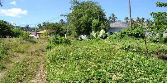 A vendre terrain Bang Kao Koh Samui 2.400 m² plat près de la plage