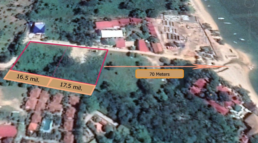 A vendre terrain Bophut Koh Samui price