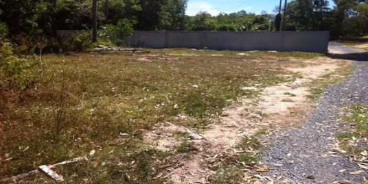A vendre terrain Namuang Koh Samui 500 m² à 2 Km de la plage