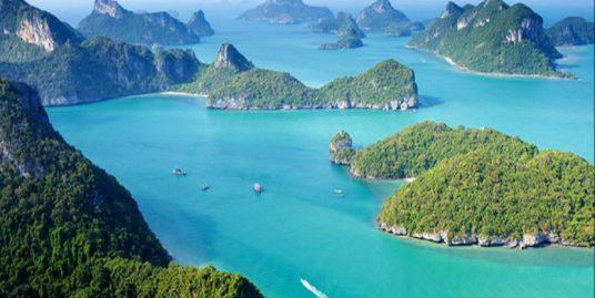 A vendre terrain Taling Ngam Koh Samui vue mer à couper le souffle