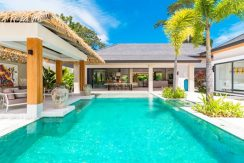 A vendre villas sur plan Maenam Koh Samui