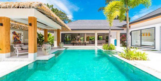 A vendre villas sur plan Maenam Koh Samui 3 chambres piscine jacuzzi