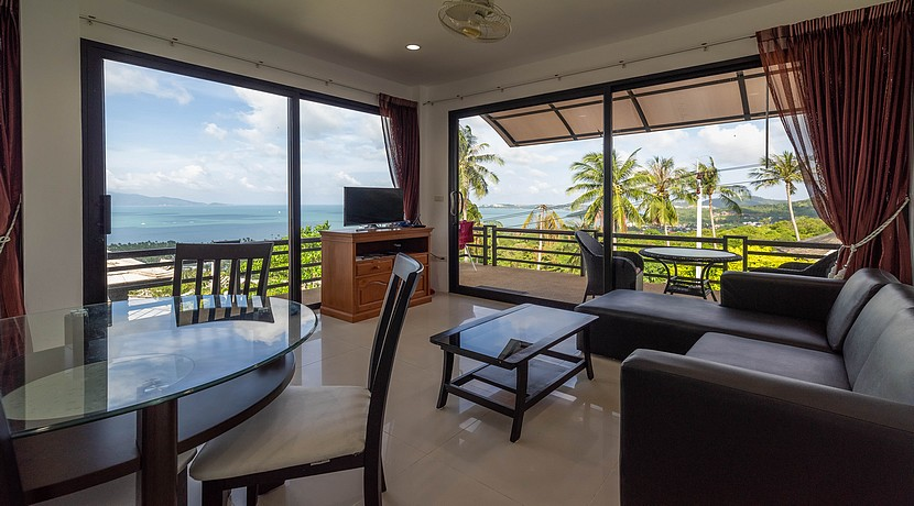 A vendre villa + appartements Bophut Koh Samui0027