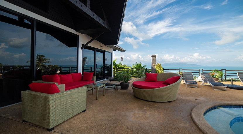 A vendre villa + appartements Bophut Koh Samui0034