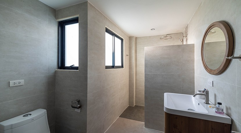 A vendre villa + appartements Bophut Koh Samui0048