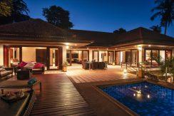 Chaweng Noi Koh Samui villa rental sea view
