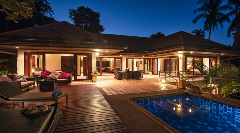 Location villa Chaweng Noi Koh Samui vue mer_1