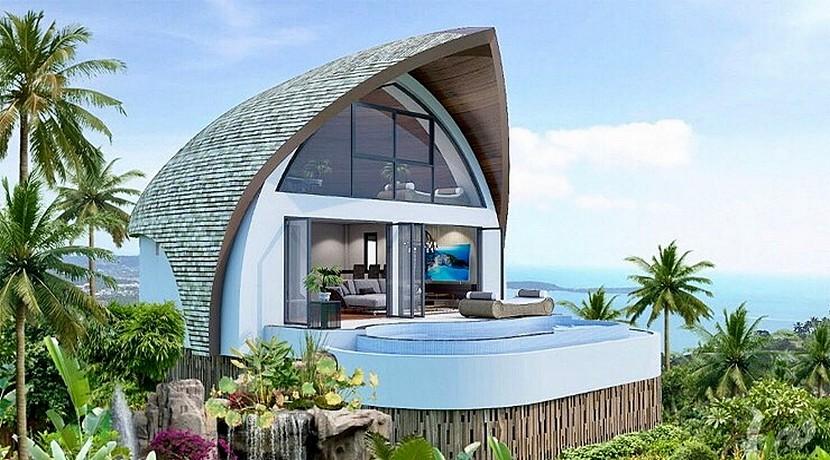 Villa moderne Koh Samui Chaweng Noi 0006