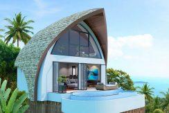 Villa moderne Koh Samui Chaweng Noi 0007