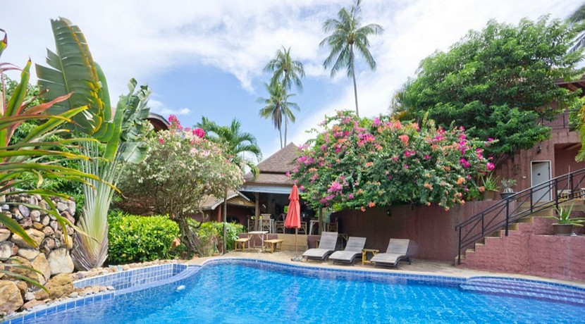 Resort Maenam Koh Samui à vendre 0022