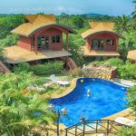 Resort Maenam Koh Samui Bungalows 12 chambres piscine vue mer
