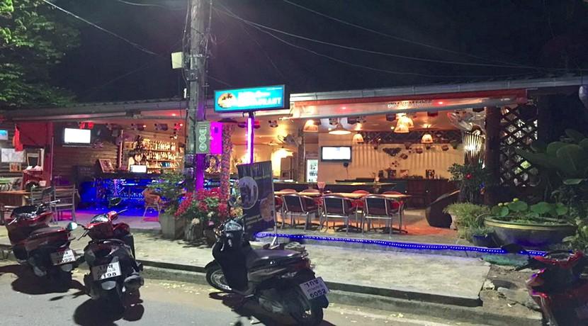 A vendre bar Lamai Koh Samui avec chambre et douche