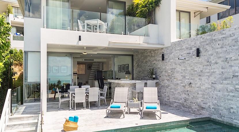Villa contemporaine Koh Samui à vendre 0007