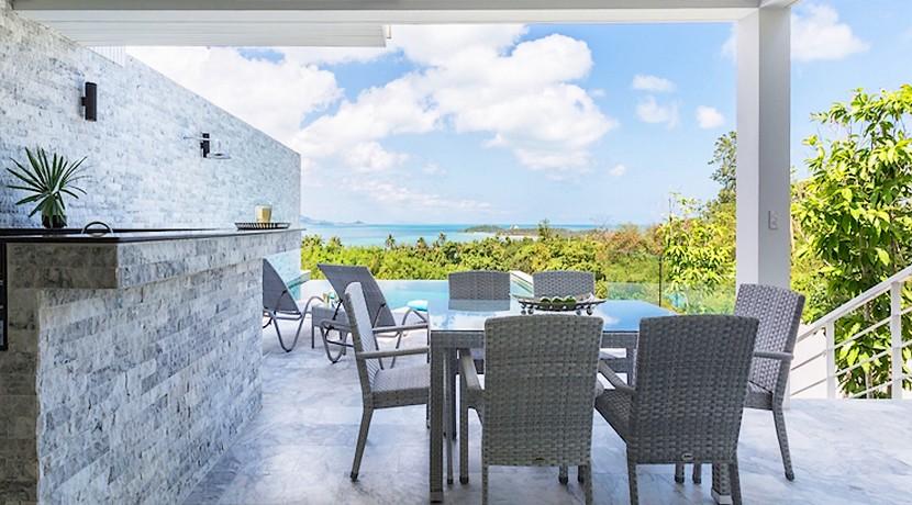 Villa contemporaine Koh Samui à vendre 0011