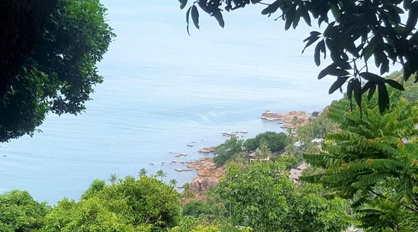 Terrain à vendre Chaweng Noi Koh Samui – vue mer