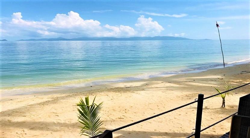 A vendre restaurant plage Koh Samui à Bang Por avec vue mer