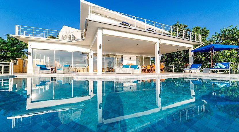 A vendre villa Srithanu Koh Phangan 3 chambres piscine vue mer