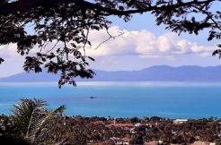 A vendre terrain vue mer sur Bophut Koh Samui
