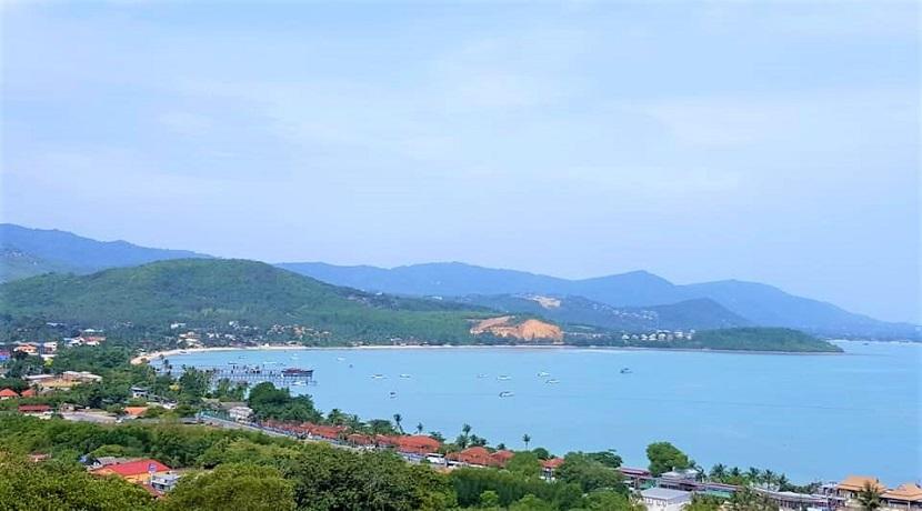A vendre terrains Bangrak Koh Samui avec vue mer (400-800m²)