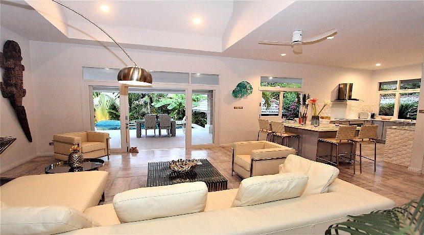 A vendre villa 3 chambres Bophut Koh Samui 0002