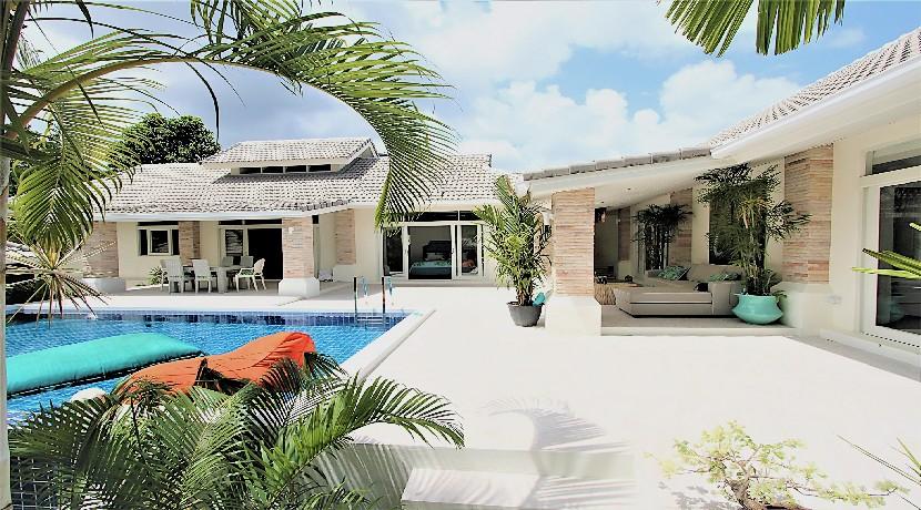 A vendre villa 3 chambres Bophut Koh Samui avec piscine