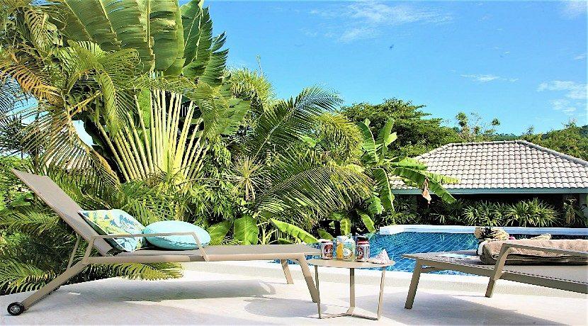A vendre villa 3 chambres Bophut Koh Samui 0017