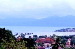 Terrain à vendre Plai Laem Koh Samui vue mer