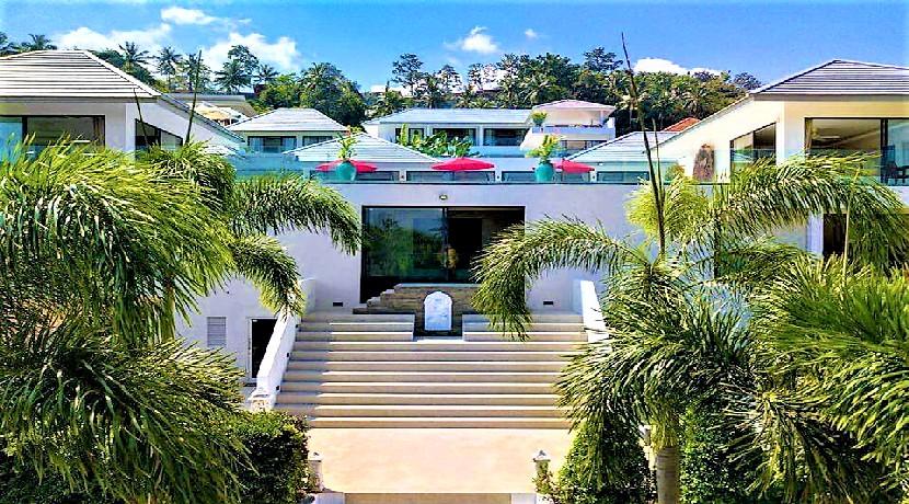 Villa de luxe Maenam Koh Samui à vendre avec piscine