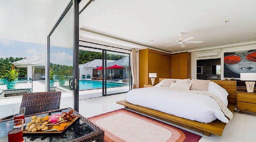 Villa de luxe Maenam à Koh Samui 0009