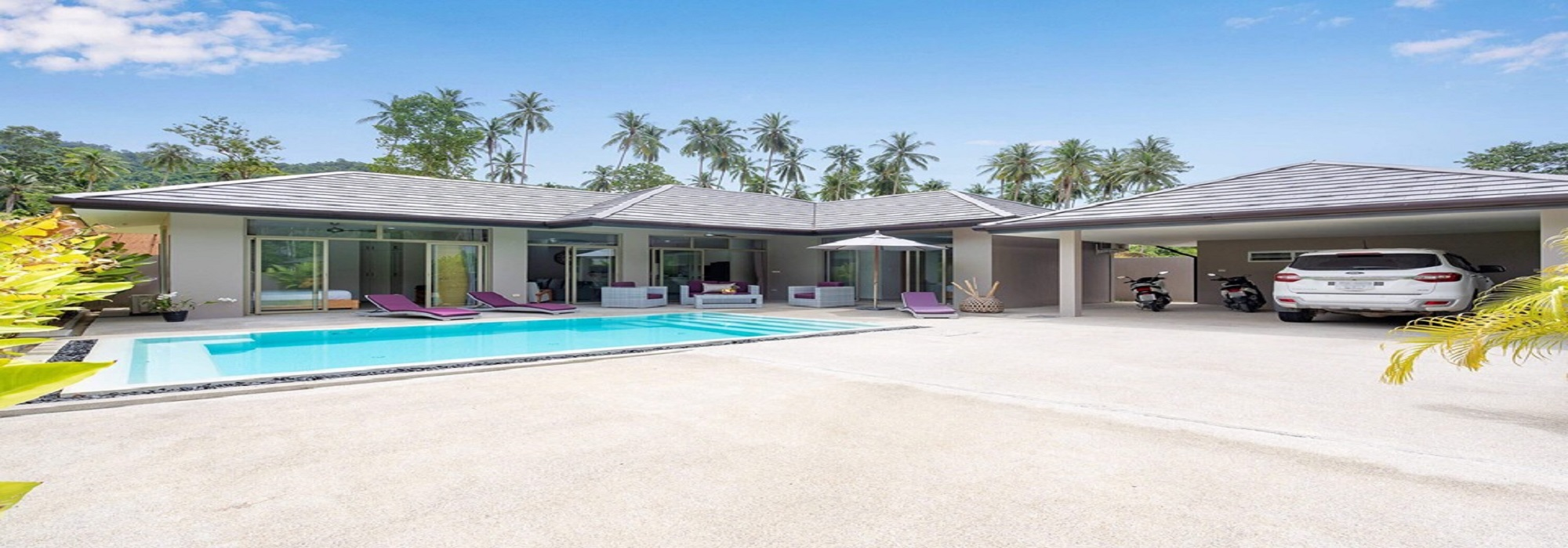 For sale Residence Lamai Koh Samui - 4 villas with private pool