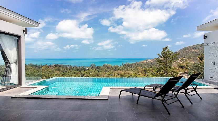 A vendre villa chaweng Noi Koh Samui – 5 chambres piscine vue mer