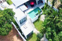 Koh Samui Lamai villa à vendre