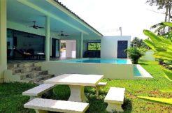 2 villas + terrain Namuang Koh Samui à vendre