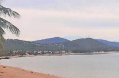 A louer terrain bord de mer à Bophut Koh Samui