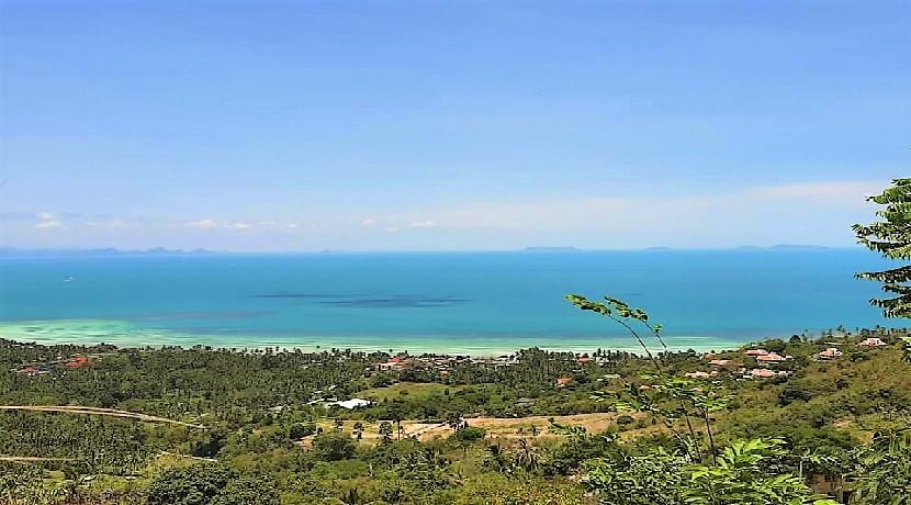 A vendre terrain Koh Samui – Bang Makham – 760 m² – vue mer