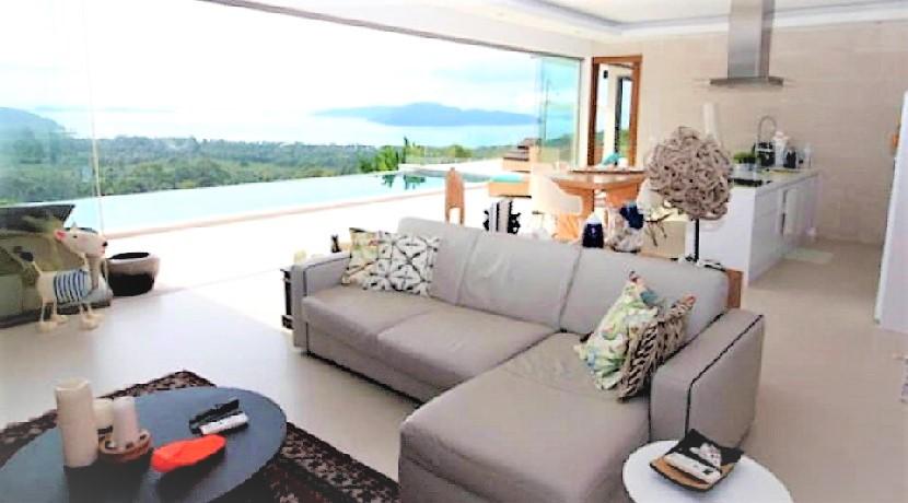 A vendre villa Thong Krut Koh Samui 4 chambres piscine privée