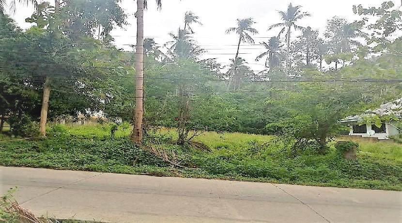 Terrain à vendre Lamai Koh Samui – 660m² plat avec Chanote
