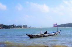 vendre terrain Chaweng Beach bord de plage
