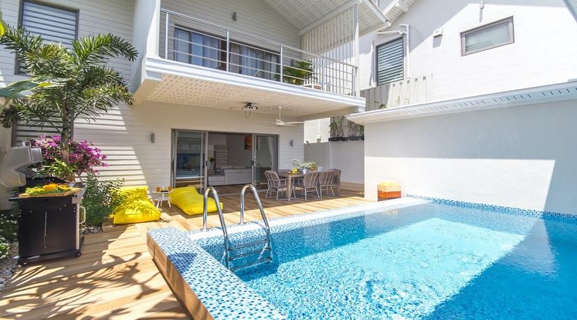 A vendre villa Ban Tai Koh Samui – 3 chambres – piscine – proche plage