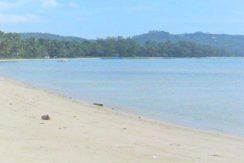 A vendre terrain bord de mer Bang Kao Koh Samui