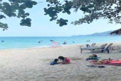 A vendre terrain bord de mer Chaweng Beach Koh Samui