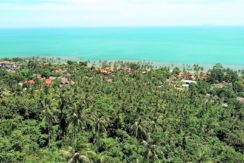 Terrain vue mer Ban Tai Koh Samui à vendre 01